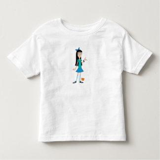 Stacy Disney de Phineas y de Ferb Playera De Niño