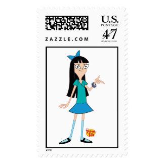 Stacy Disney de Phineas y de Ferb Sellos