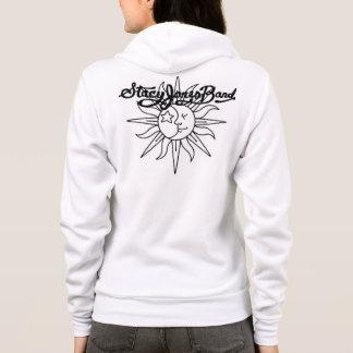 stacy jones band logo w sun/moon hoodie