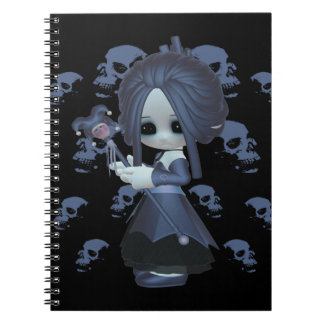 Stacy Little Gothic Spiral Note Book