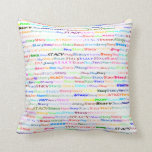 Stacy Text Design II Throw Pillow
