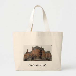 Stadium High School Canvas Bag