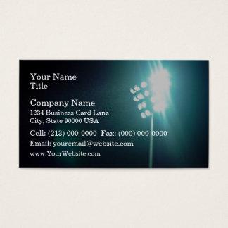 Stadium lights business card