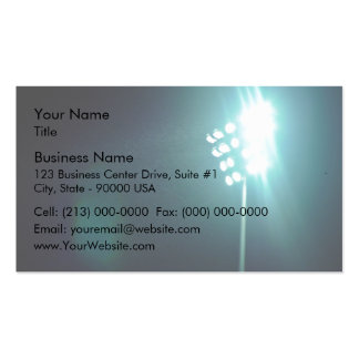 Stadium lights Double-Sided standard business cards (Pack of 100)