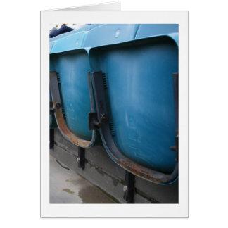 Stadium Seats Card