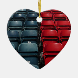 Stadium Seats Ceramic Ornament