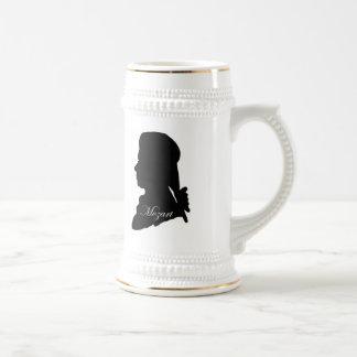 Stadler and Mozart Beer Stein