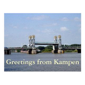 Stadsbrug, Kampen Postcard