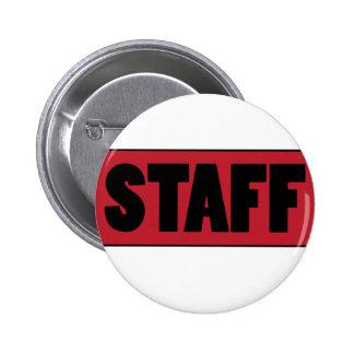 Staff 2 Inch Round Button