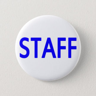 Staff Blue Button