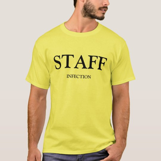Staff Infection Yellow Adult T-Shirt