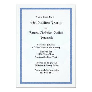Staff of Asclepius Graduation Invitation
