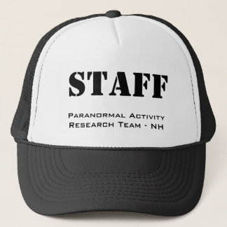 STAFF, Paranormal Activity Research Team - NH Trucker Hat