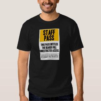 Staff Pass T-shirt