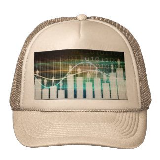Staff Performance Appraisal with People Standing Trucker Hat