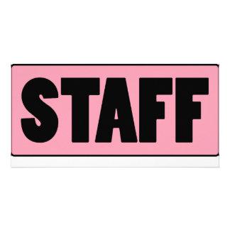 Staff Personalized Photo Card