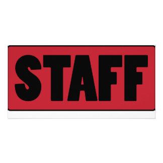 Staff Customized Photo Card
