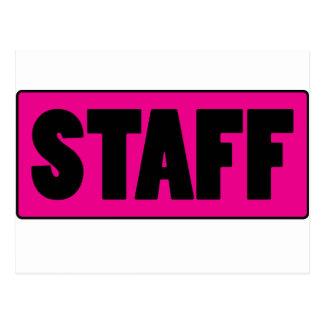 Staff Postcard