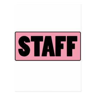 Staff Post Card