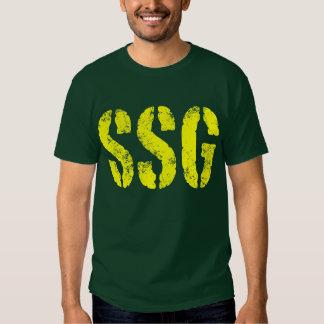 Staff Sergeant SSG rank Tee Shirt