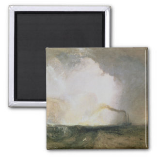 Staffa, Fingal's Cave, 1832 (oil on canvas) Refrigerator Magnet