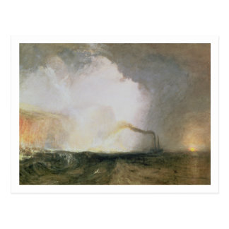 Staffa, Fingal's Cave, 1832 (oil on canvas) Postcard