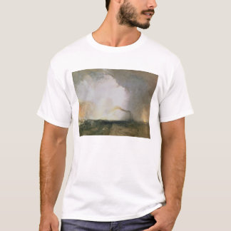 Staffa, Fingal's Cave, 1832 (oil on canvas) T-Shirt