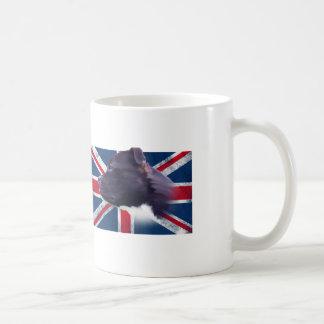 Staffbull UK flag grunge //TAZA CUP