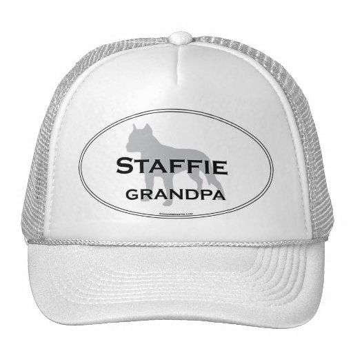 Staffie Grandpa Mesh Hat