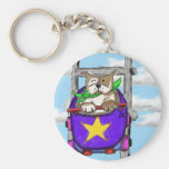 Staffie Smiles - ROLLERCOASTER - key ring Keychain