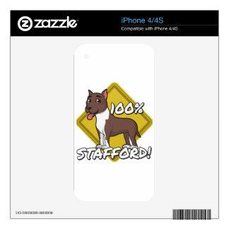 Stafford 100% iPhone 4 skins