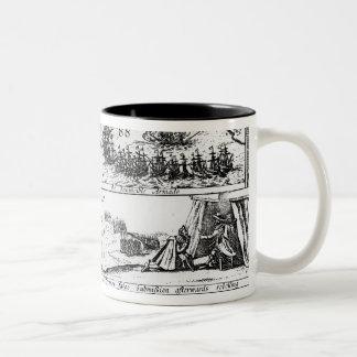 Stafford Clearing Himself, the Invincible Coffee Mug