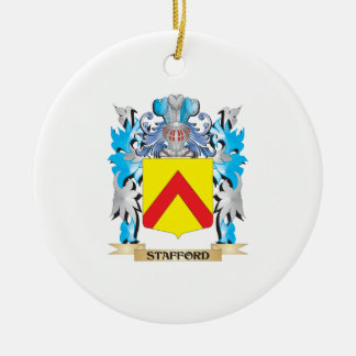 Stafford Coat of Arms - Family Crest Ceramic Ornament