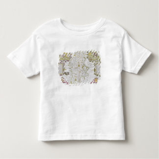 Stafford County and Town, engraved by Jodocus Shirt