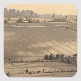 Stafford Forge Cranberry Plantation, West Creek Square Sticker