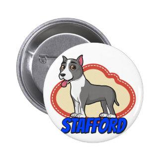Stafford! Pinback Button