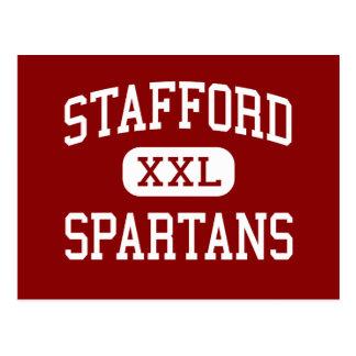 Stafford - Spartans - Middle - Stafford Texas Postcard