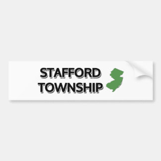 Stafford Township, New Jersey Bumper Sticker