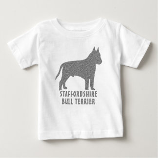 Staffordshire Bull Terrier Baby T-Shirt