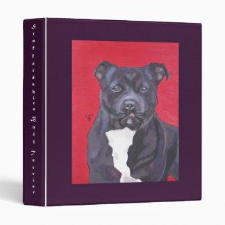 Staffordshire Bull Terrier binder
