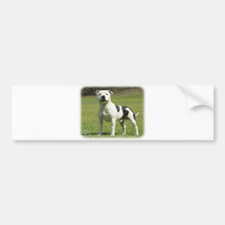 Staffordshire Bull Terrier Car Bumper Sticker