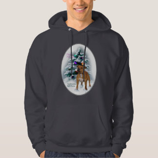 Staffordshire Bull Terrier Christmas Gifts Hoodie