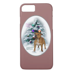 Case-Mate Barely There iPhone 7 Case with Bull Terrier Phone Cases design