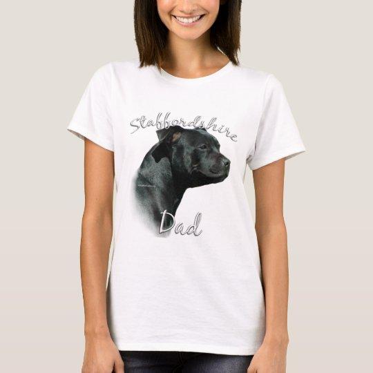 Staffordshire Bull Terrier Dad 2 T-Shirt