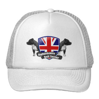 Staffordshire Bull Terrier ENGLAND Trucker Hat