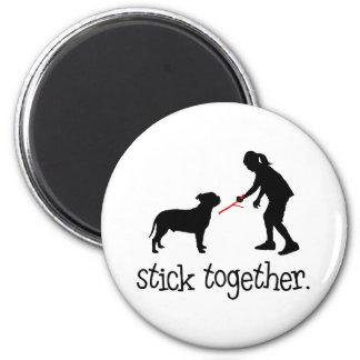 Staffordshire Bull Terrier Fridge Magnet