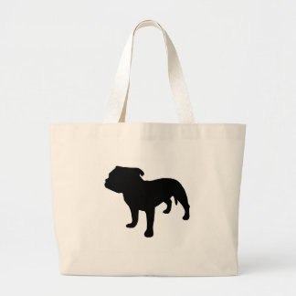 Staffordshire Bull Terrier Gear Large Tote Bag