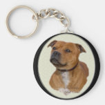 Staffordshire Bull Terrier Gifts Keychain