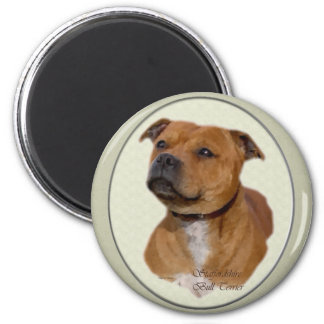 Staffordshire Bull Terrier Gifts Magnet
