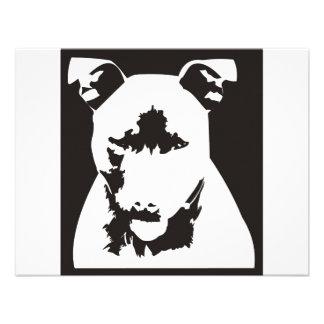 Staffordshire Bull Terrier Custom Announcement
